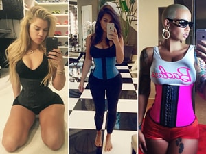 celebrities wearing the waist trainers