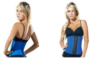 a model in Ann Chery Women's Faja Deportiva Workout Waist Cincher