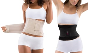 waist shapers on white background