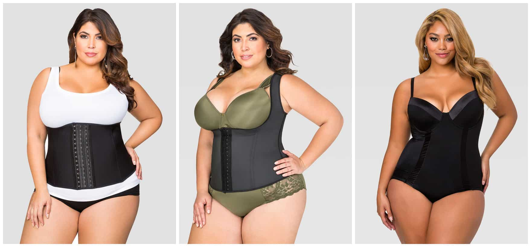 plus-sized waist trainer - me and my waist
