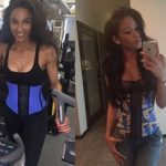A waist training star - Ciara