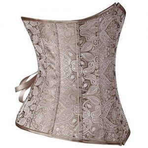 Free Shipping Underbust Waist Training Corset on the white.