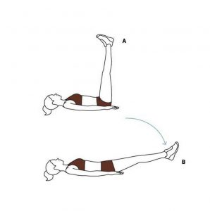 Bend over poses
