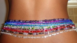 Waist beads uses.
