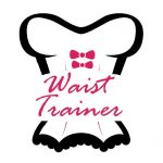 Drawing waist trainning corset