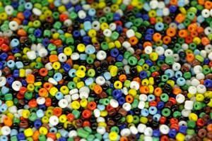 colorful waist beads