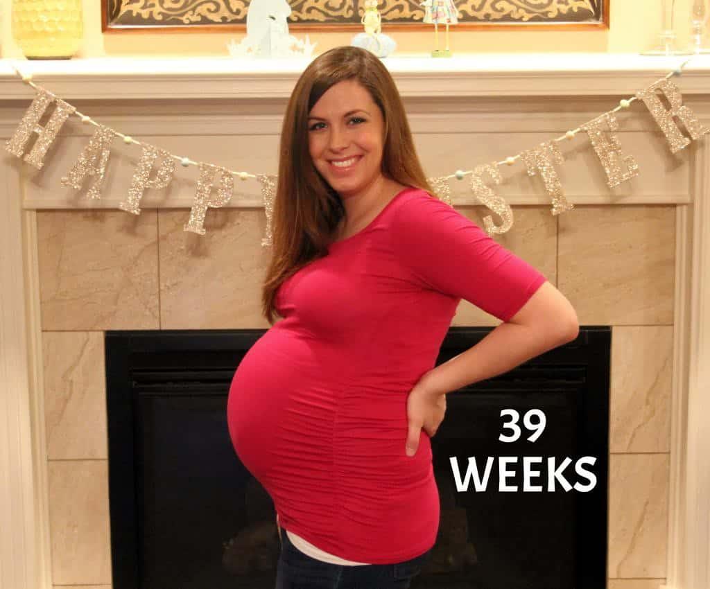 39 weeks - Me and My Waist