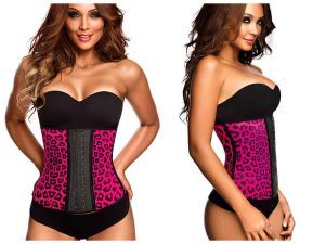 Ann Chery Animal Print Workout Waist Cincher