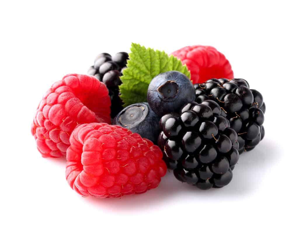 Fresh ripe berry in closeup.
