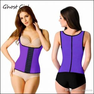 Waist training body shaper