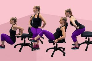 Easy Waist Training Workouts to Lose Belly Fat Sitting at a Desk