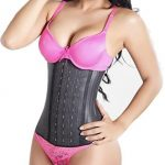 Columbian latex waist trainer