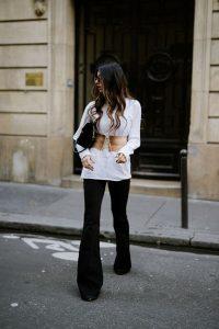 Corset belt with pants