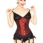 PLAYGIRL Steel boned Waist training Shaper Corset