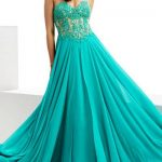 Corset prom dress
