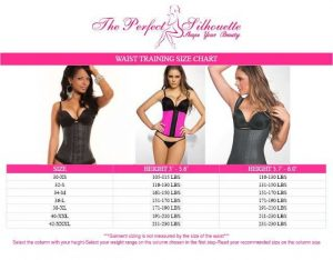 Waist training sizing tips