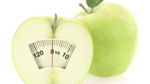 Green apple and varying calorie