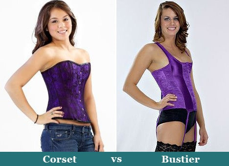 Bustier and Corset Tops: What's The Difference Between Them